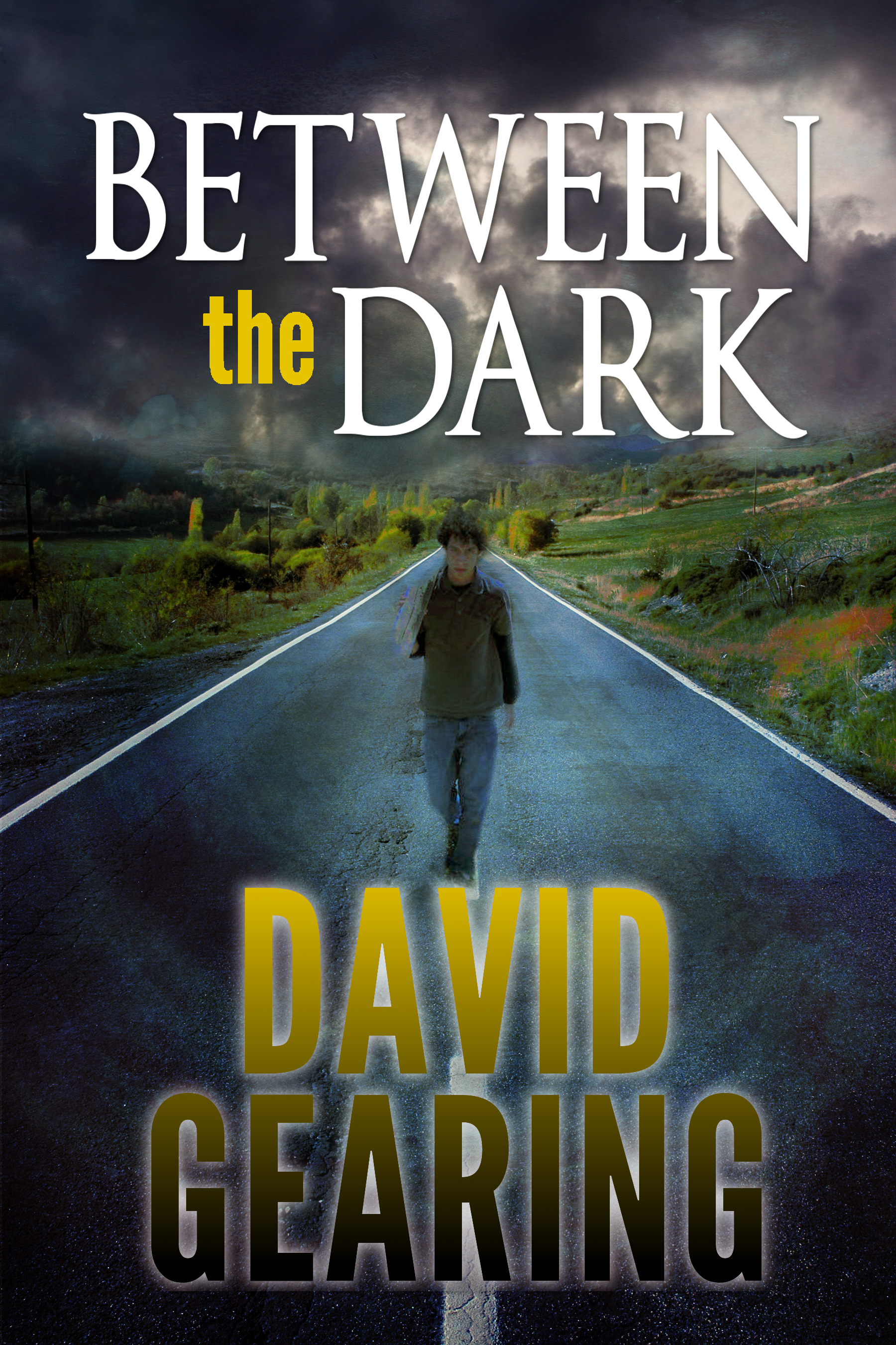 between the dark
